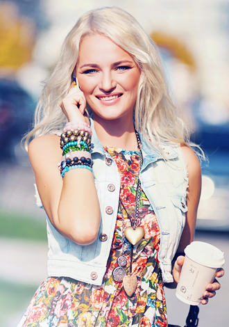 Gorgeous girls only: Kseniya from Sumy, beautiful Russian single